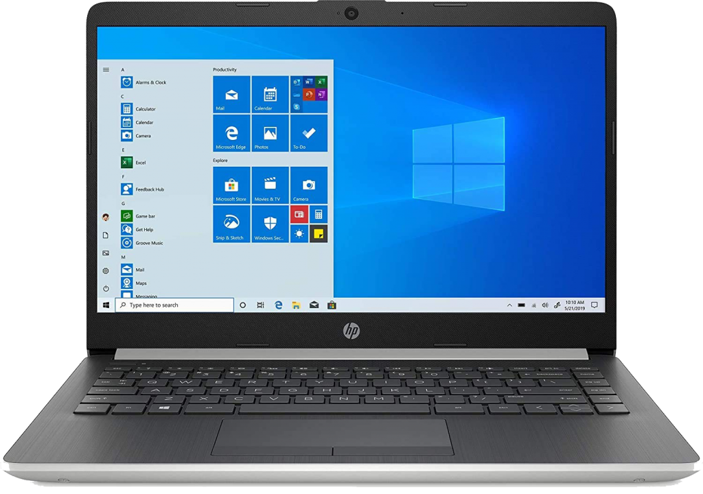 "HP 14"" Touchscreen Home and Business Laptop Ryzen 3-3200U"